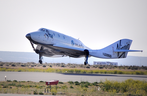 AirGuideOnline.com — Virgin Galactic's SpaceShipTwo rocket plane did a successful gliding test