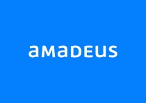 amadeus new logo on blue